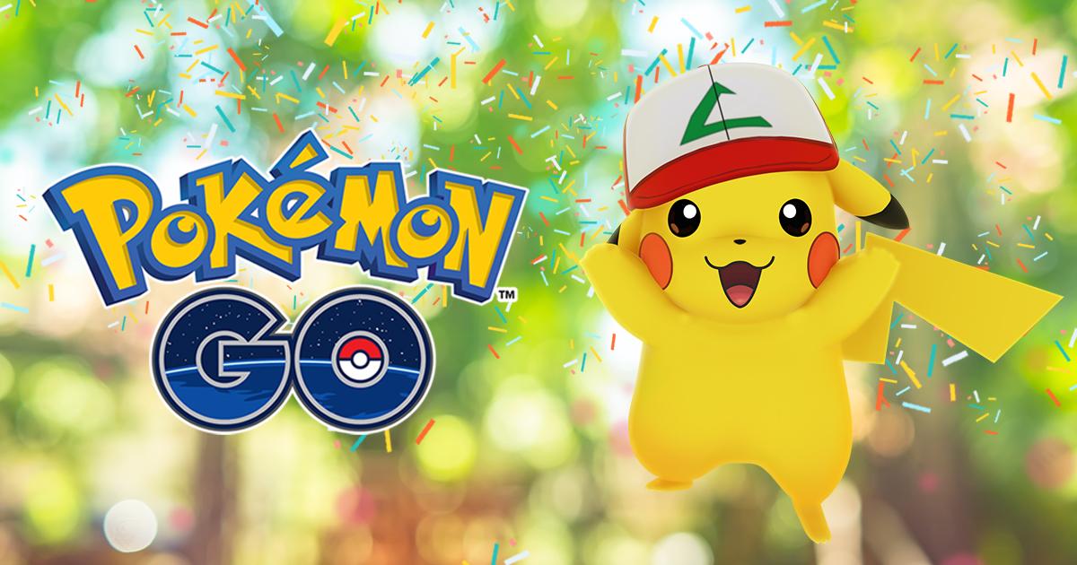 Anniversaire Pokémon Go