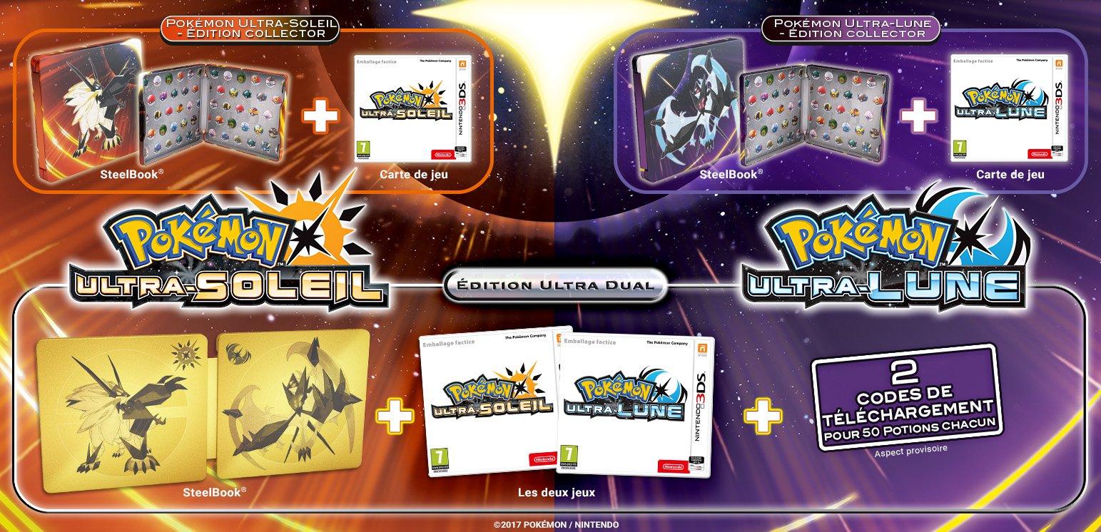 Édition Ultra-Dual Pokémon Ultra-Soleil et Ultra-Lune