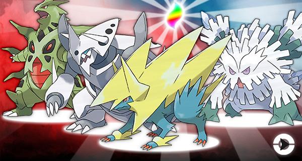 La Tyranocivite, Blizzarite et Élecsprintite et la Galekingite à récupérer sur Pokémon Soleil et Lune