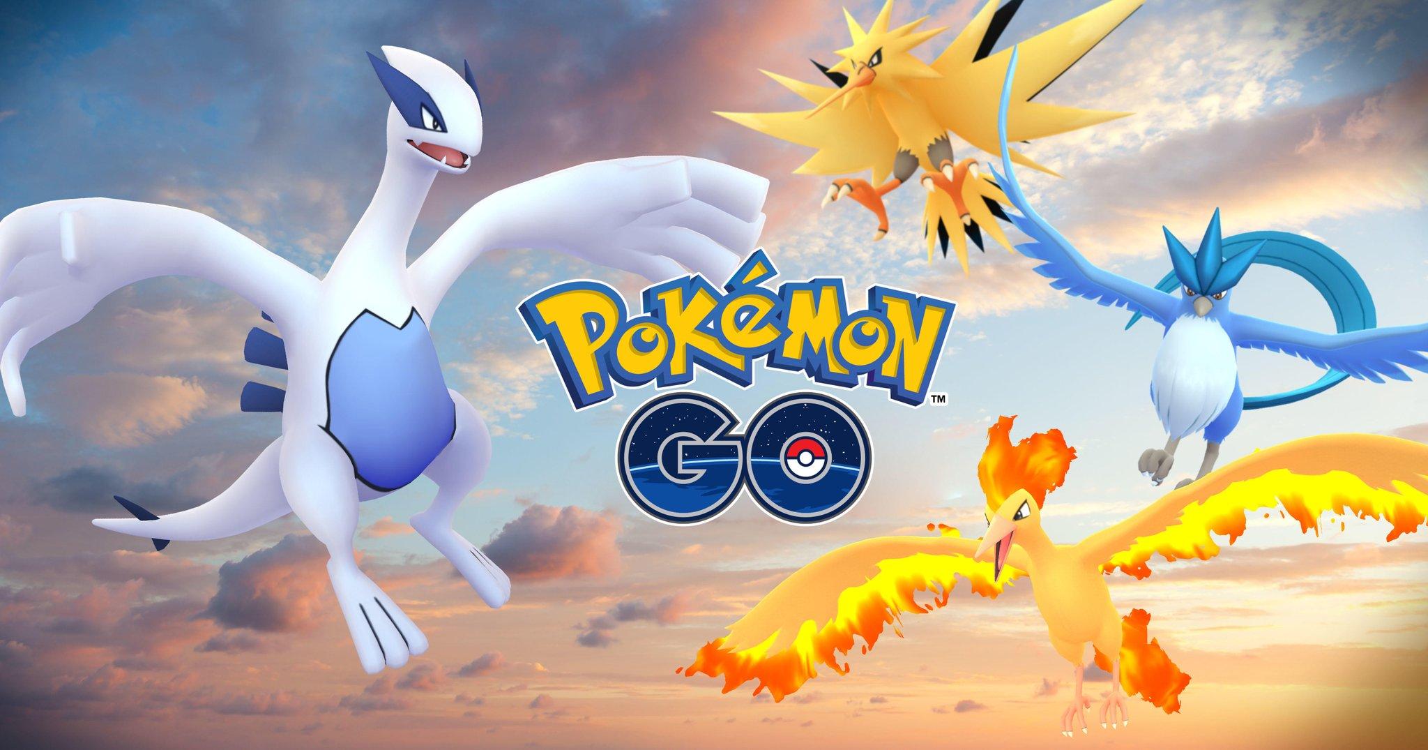 Artikodin et Lugia disponibles sur Pokémon Go