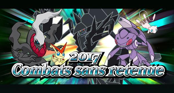 Nouvelle compétition Pokémon Soleil et Lune : Combat sans retenue 2017