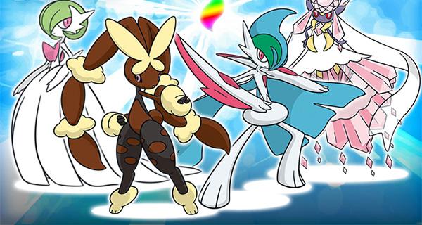 Gardevoirite, la Gallamite, la Lockpinite et la Diancite distribuées sur Pokémon Soleil et Lune