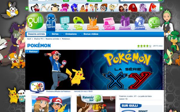 Soirée Pokémon prévue sur Gulli