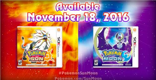 Toutes les informations sur Pokémon Lune et Soleil !