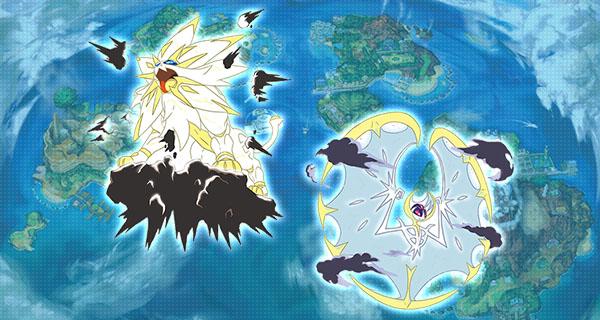 Pokémon Soleil et Lune : nouvelle fuite d'un Pokémon + formes alternatives de Solgaleo et Lunala + Infos sur Magearna