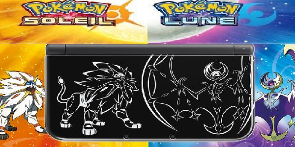 Une console collector et des versions limitées pour Pokémon Soleil et Lune !
