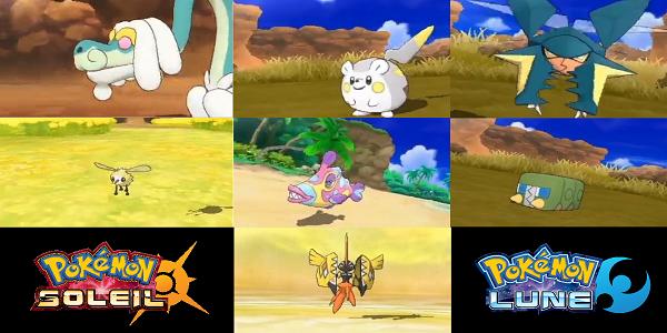 7 Nouveaux Pokémon font leur apparition sur la toile !