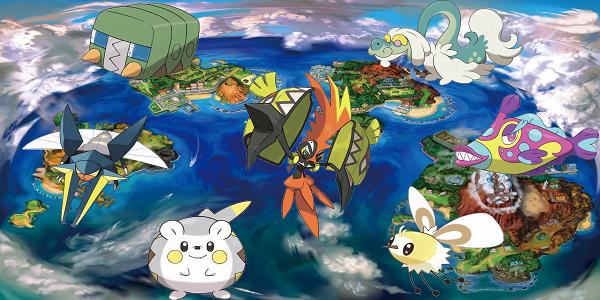 Officialisation des 7 nouveaux Pokémon en français !