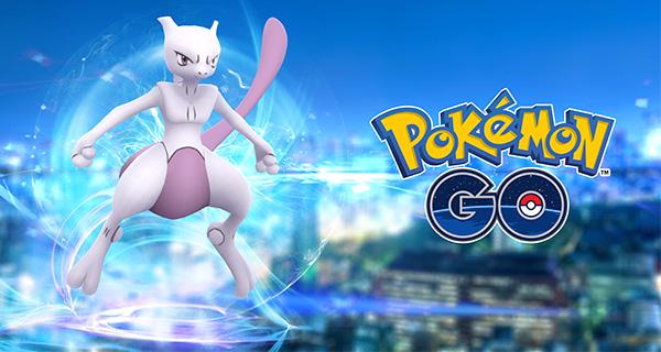 Mewtwo, Raids Exclusifs et oiseaux légendaires dans Pokémon Go