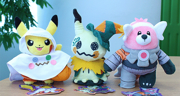 Nouveaux goodies Pokémon Center pour Halloween 2017
