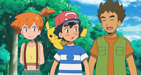 Ondine et Pierre de retour dans l'animé Pokémon Soleil et Lune