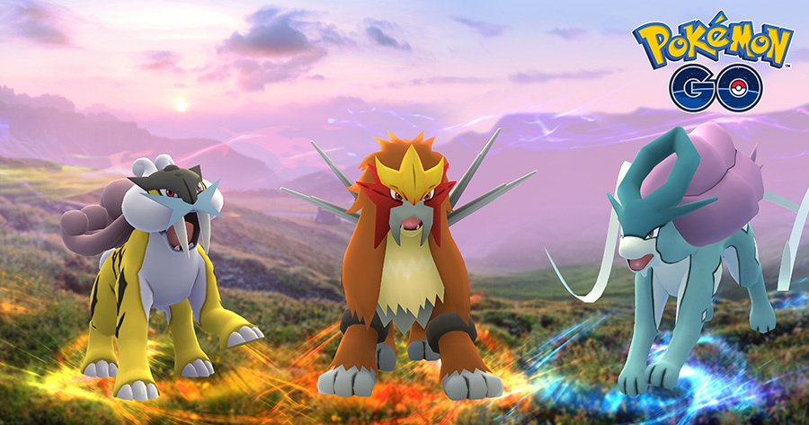 Raikou, Entei et Suicune, ainsi les Raids Ex bientôt disponibles sur Pokémon Go