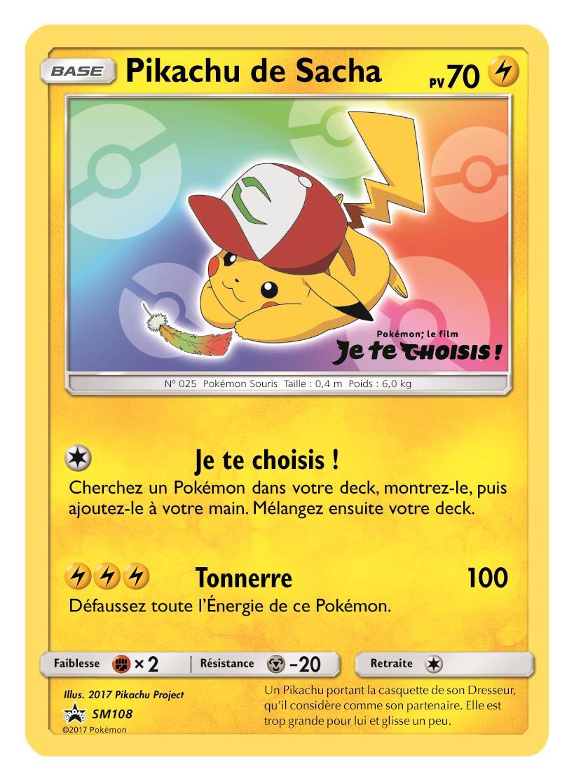 Carte Pokémon Je te choisis