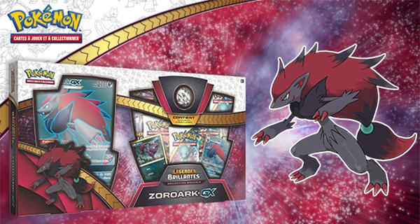 La Collection spéciale Légendes Brillantes de Zoroark-GX pour le 17 novembre prochain