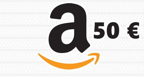 Concours : Tentez de gagner une carte cadeau Amazon de 50 €