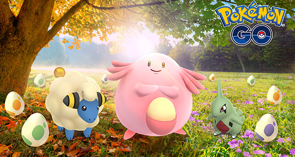 Célébrez l'Équinoxe sur Pokémon Go