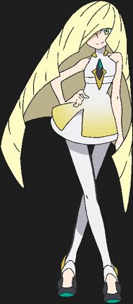 Elsa Mina Animé Pokémon Soleil et Lune