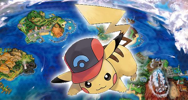 PikaSacha forme Sinnoh disponible sur Pokémon Soleil et Lune