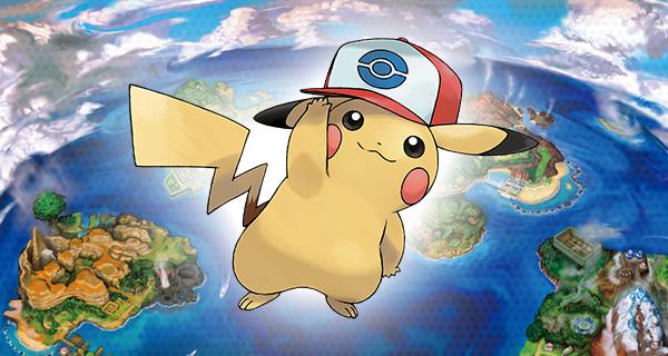 PikaSacha forme Unys disponible sur Pokémon Soleil et Lune