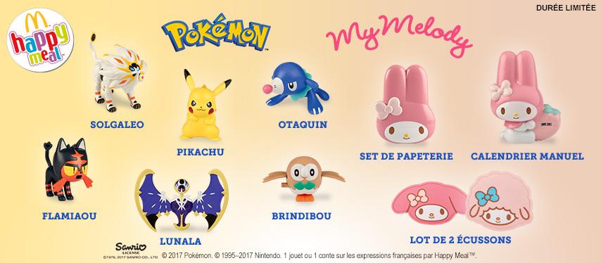 Les Pokémon débarquent chez McDonald's