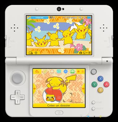 Un nouveau thème Pokémon pour la Nintendo 3DS