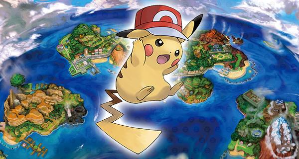 PikaSacha forme Kalos sur Pokémon Soleil et Lune