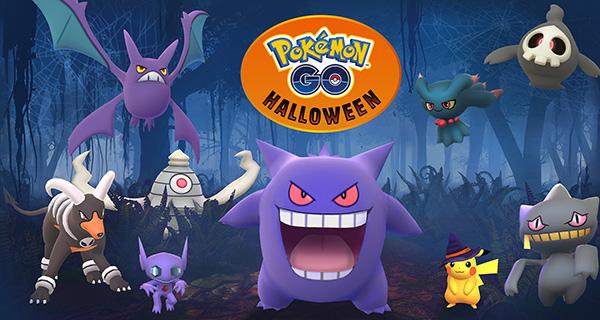 Évènement Halloween 2017 sur Pokémon Go