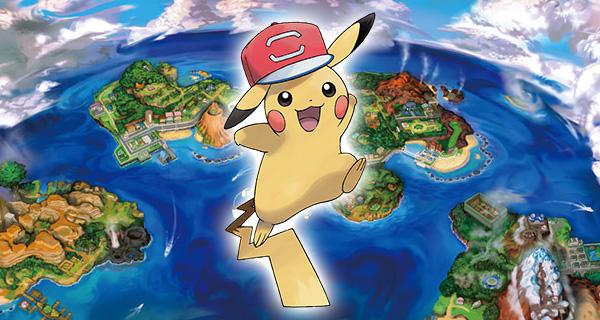 PikaSacha forme Alola disponible sur Pokémon Soleil et Lune