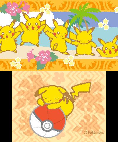 Thème Pikachu & Pokéball
