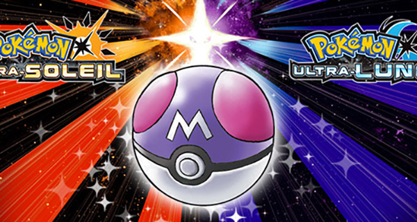 Une Master Ball offert sur Pokémon Ultra-Soleil et Ultra-Lune