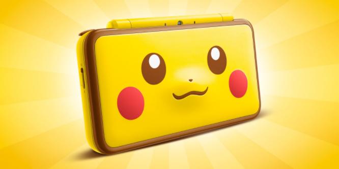 2DS XL édition Pikachu