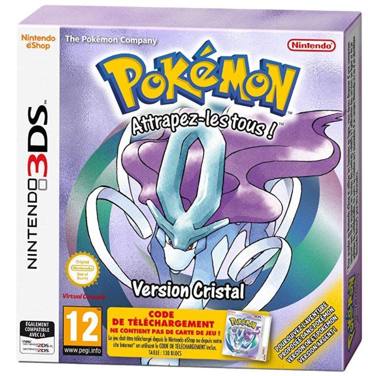 Pokémon Cristal sur Nintendo 3DS