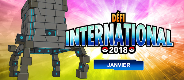 Défi International de Janvier 2018 Pokémon Ultra-Soleil et Ultra-Lune