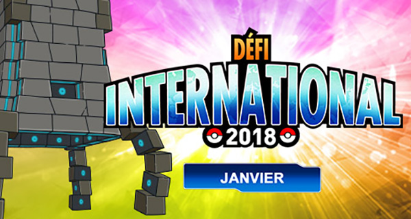 Pokémon Ultra-Soleil et Ultra-Lune : Défi International de Janvier 2018