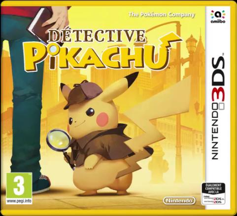 Détective Pikachu arrive le 23 Mars 2018 sur Nintendo 3DS