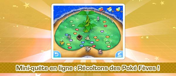 Récoltons des Poké Fèves Pokémon Ultra-Soleil et Ultra-Lune