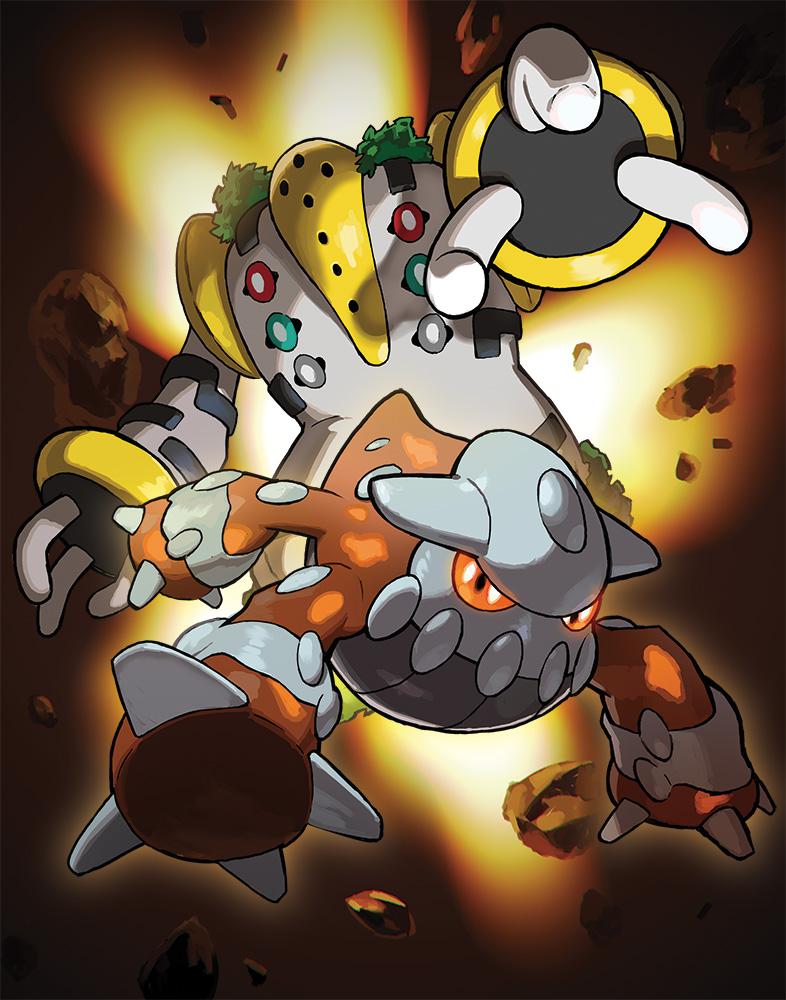 Regigigas et Heatran distribués au mois de Mars sur Pokémon Ultra-Soleil et Ultra-Lune