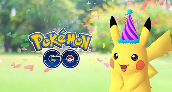 Un Pikachu festif disponible sur Pokémon Go