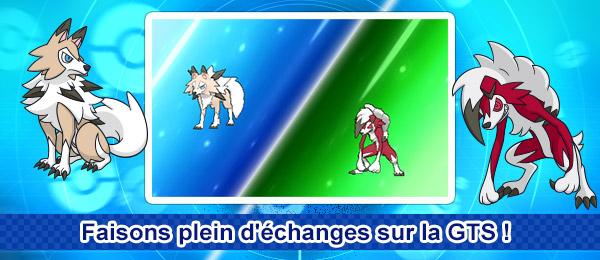 Mini quête Pokémon Ultra-Soleil et Ultra-Lune : Faisons plein d'échanges sur la GTS !