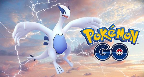 Lugia de retour en Combat de Raïd sur Pokémon Go