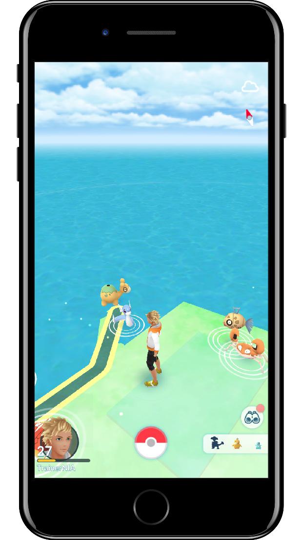 Obtenez Mew via les Missions d'étude du professeur Willow sur Pokémon Go