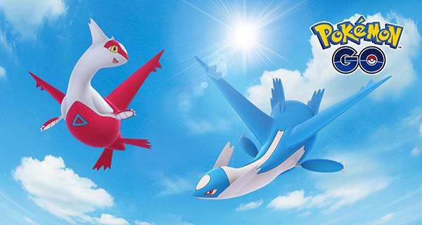 Latios et Latias arrivent en Combat de Raid sur Pokémon Go