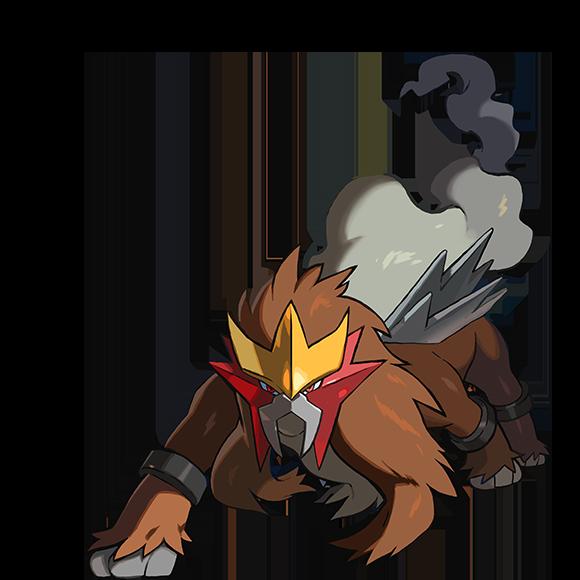 Entei distribution sur Pokémon Ultra-Soleil et Ultra-Lune