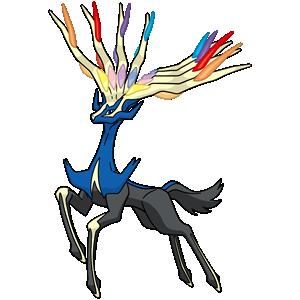 Xerneas Pokémon Ultra-Soleil et Ultra-Lune