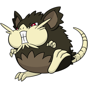 Rattatac d'Alola Dominant Pokémon Ultra-Soleil et Ultra-Lune